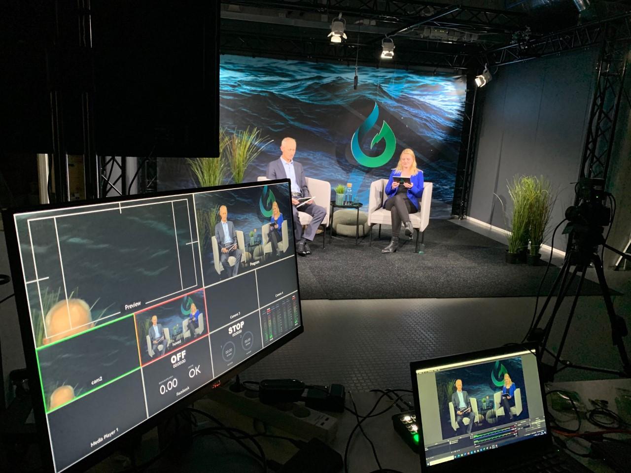 Hydrogenkonferanse studio