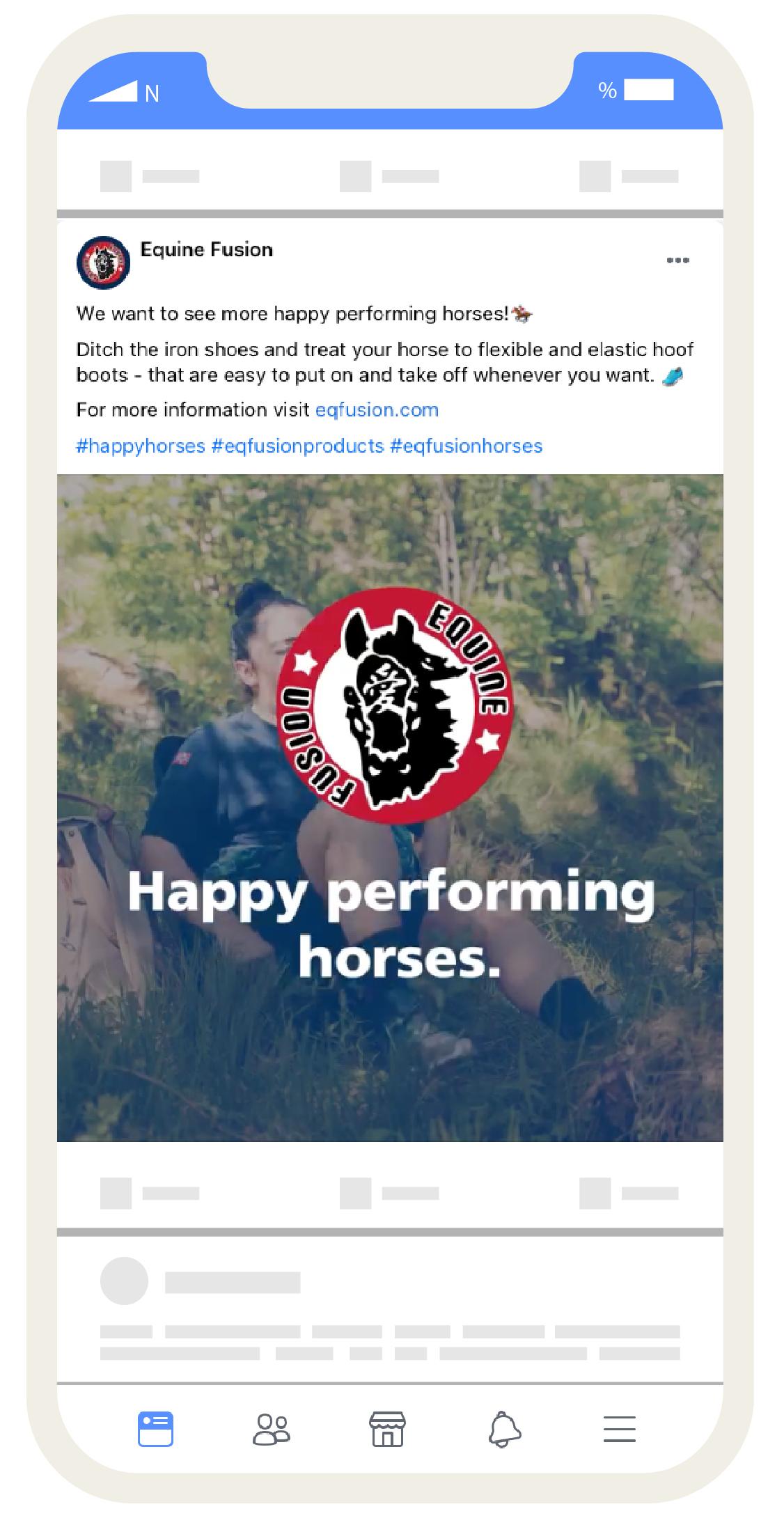 Equine fusion turgåer